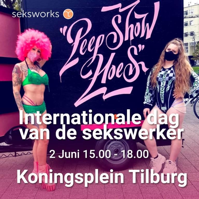 PeepShowHoes nar Tilburg op de sekswerkerdagde